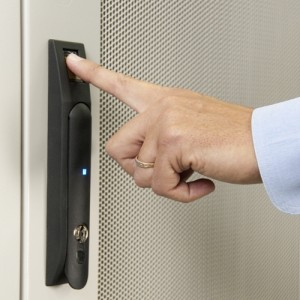 CyrusOne's Ohio data center offers seven levels of security options, including biometric scanners for data protection.